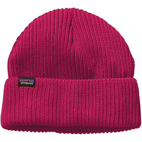 Patagonia Fishermans Rolled Beanie craft pink